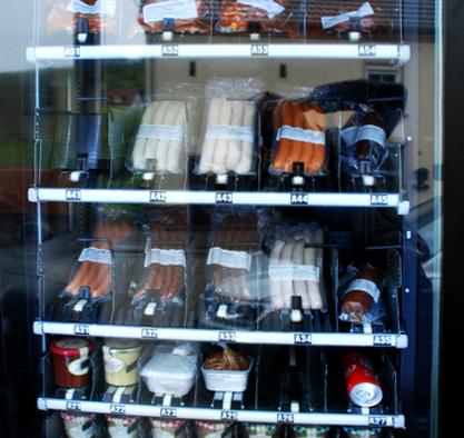 Unser Wurstautomat in Zerf